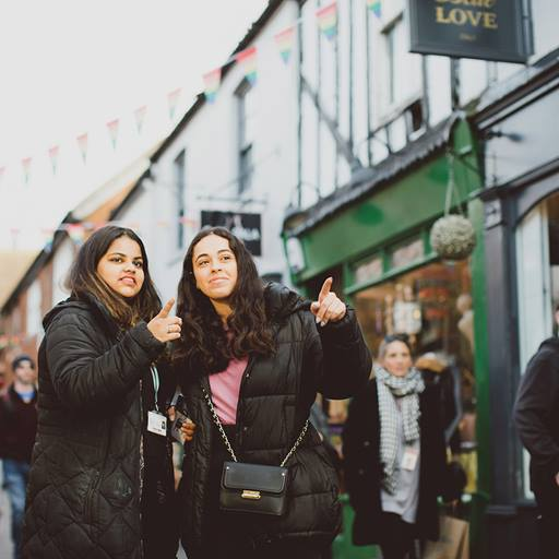 students-shopping-colchester-town-eld-lane